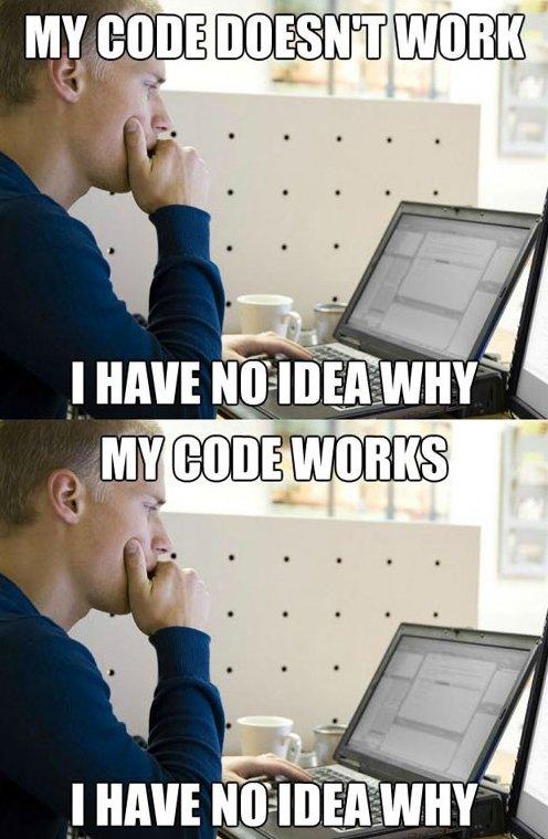 Bazen yazdığımız kod nasıl çalıştı anlamayız…