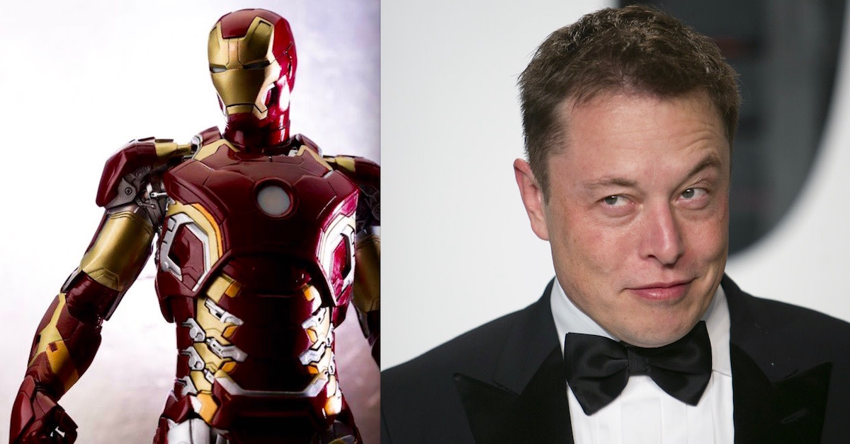 elon musk , spacex , univerlist , iron man